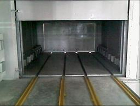 Oven for Axle Paint Baking